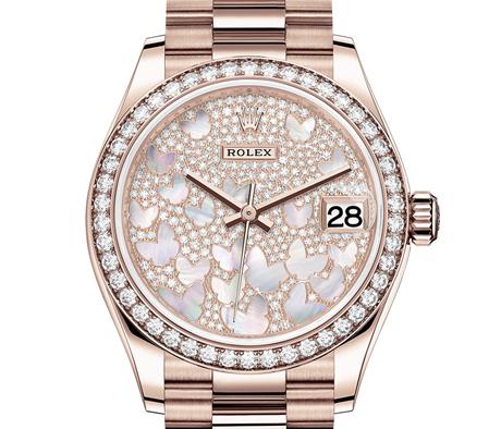 replica Rolex Datejust M278285RBR-0010
