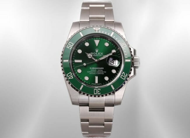 Rolex Submariner 116610LV replica watches