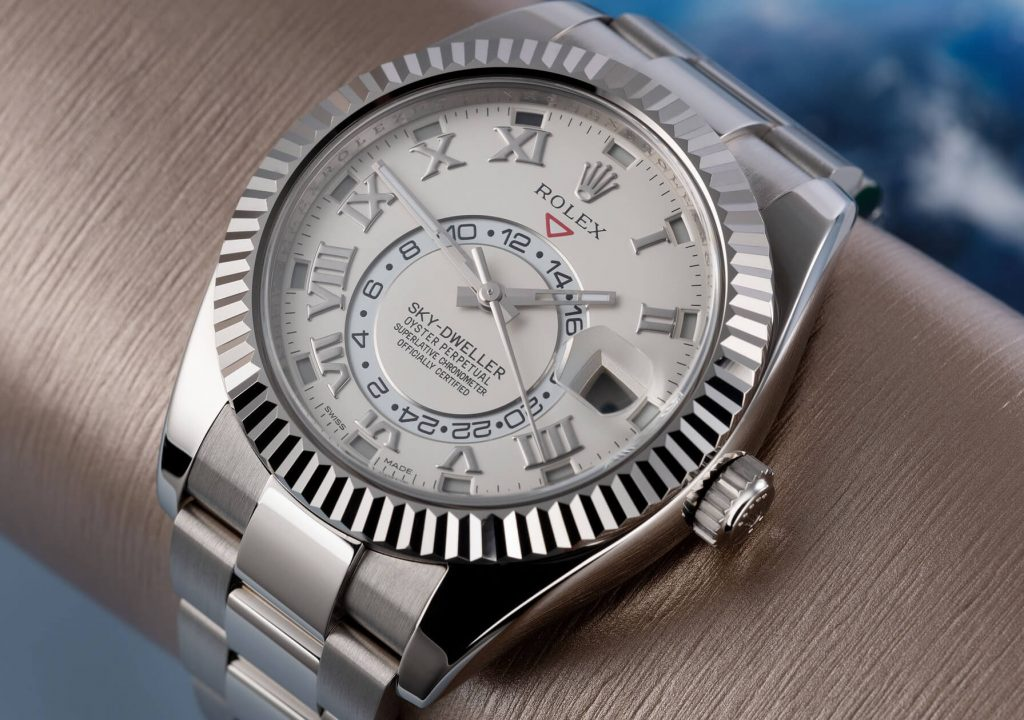 complicated fake Rolex Sky-Dweller 326939