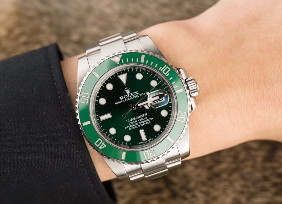 replica Rolex Submariner 116610LV watches