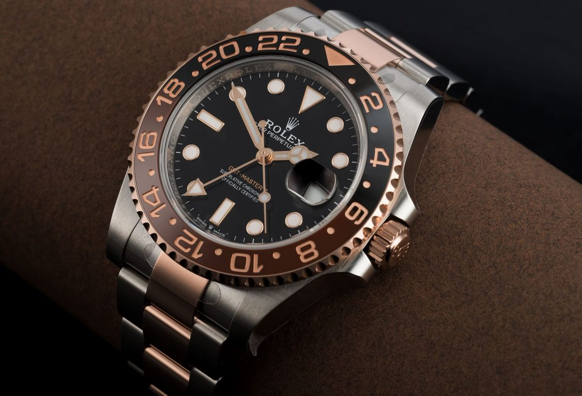 Rolex Fake GMT-Master II Everose And Root Beer