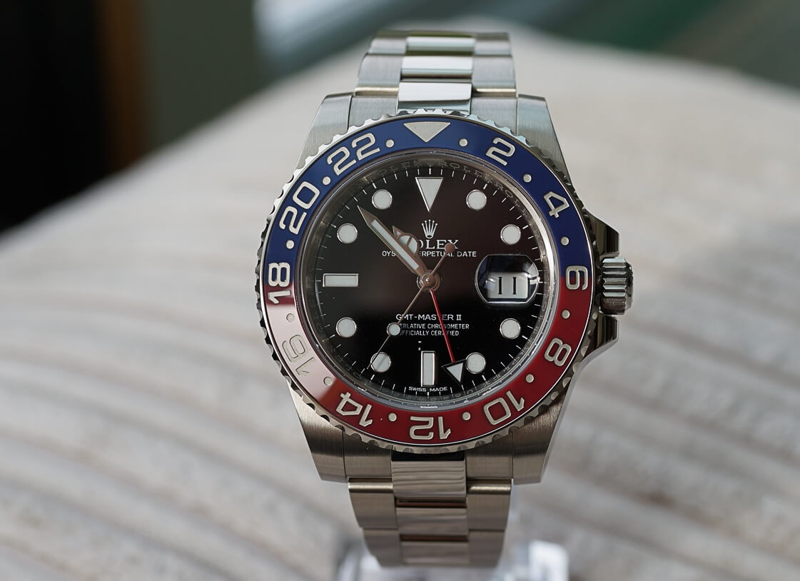"Rolex GMT Master II 116719 BLRO ""Pepsi"" Replica Watch"