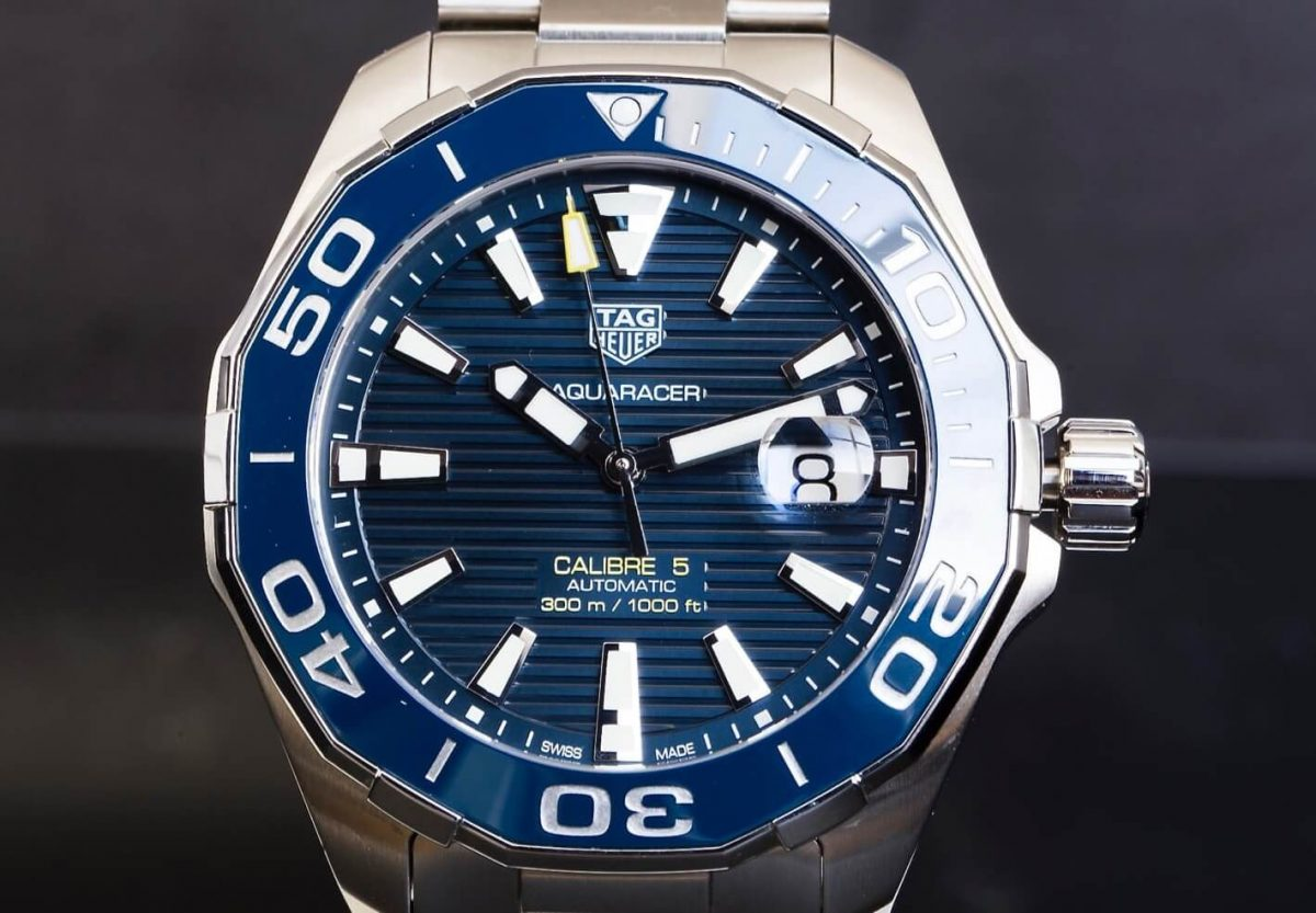 Mens Replica TAG Heuer Aquaracer 300M Ceramic Bezel Caliber 5 43MM 2016 Watch